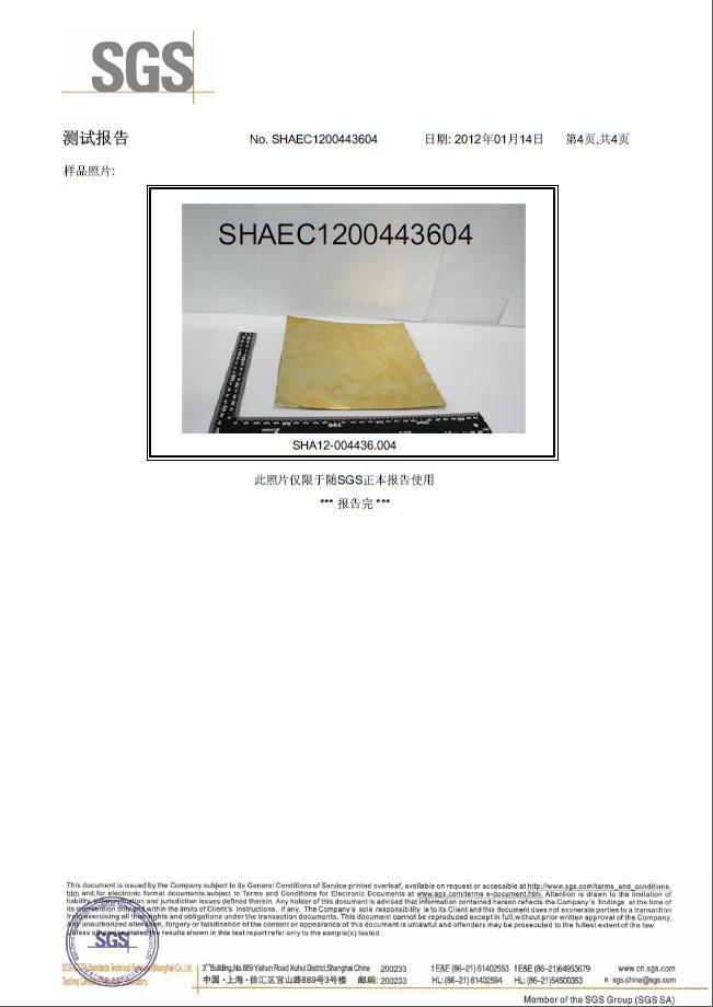 SGS测试报告4(铜)